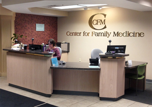 Center for Family Medicine | About CFM - Lobby Image 1