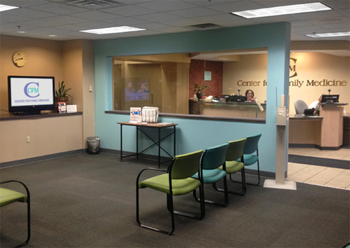 Center for Family Medicine   About CFM - Lobby Image 2