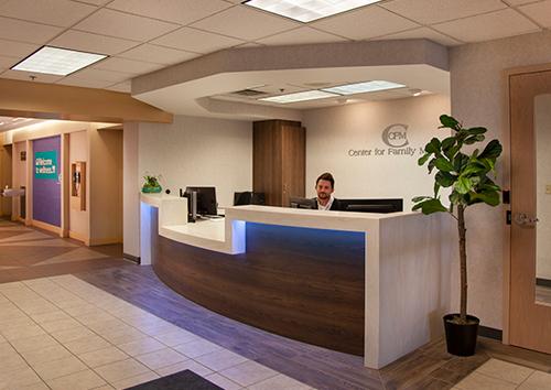Center for Family Medicine - About CFM | Front Desk Image